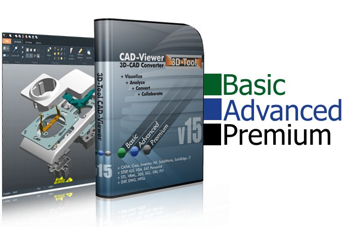3D-Tool Basic, Advanced and Premium