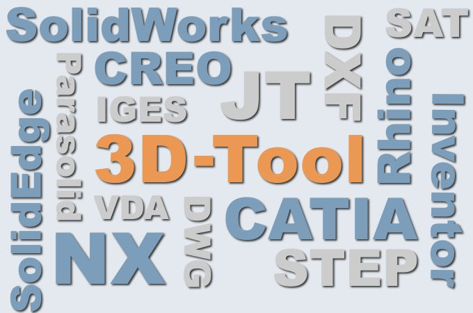 3D-NativeCAD Converter for converting 3D CAD models