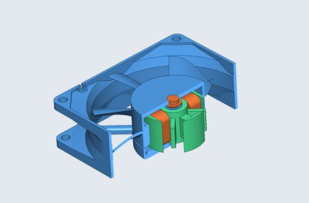 Dynamic display of 3D CAD models
